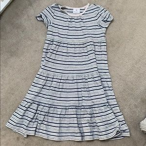 Hanna Andersson twirl girl dress stripe 140 10